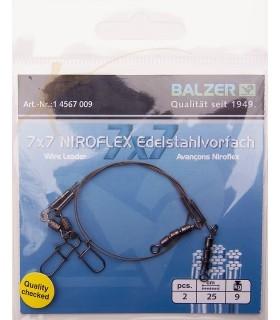 Tross Balzer 7x7 Niroflex kolmikpöörlaga