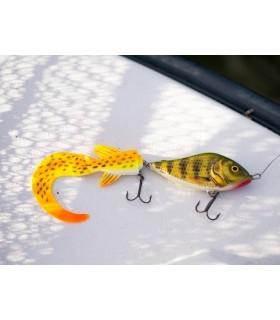 10 cm Salmo Slider'ile lisatud Savage Gear Hybrid Pike saba