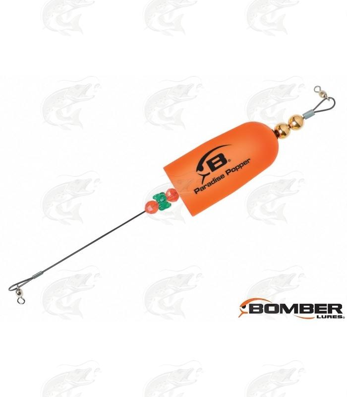 Bomber Paradise Popper X-treme Popper Rig | Orange