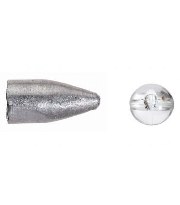 Balzer Carolina & Texas raskused läbipaistvate pärlitega