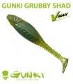 Gunki Grubby Shad | Motoroil Red