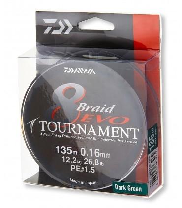 Daiwa Tournament 8 Braid Evo Braided Line