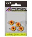Daiwa Prorex TG Flexi Jig Head / Fluo-oranž