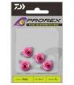 Daiwa Prorex TG Flexi Jig Head / Fluo-roosa