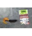 Plastic stopper for offset hooks