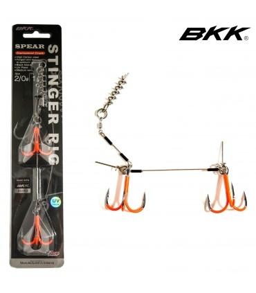 """Kummilantide rakendus """"BKK UV Spear Stinger Rig"""""""