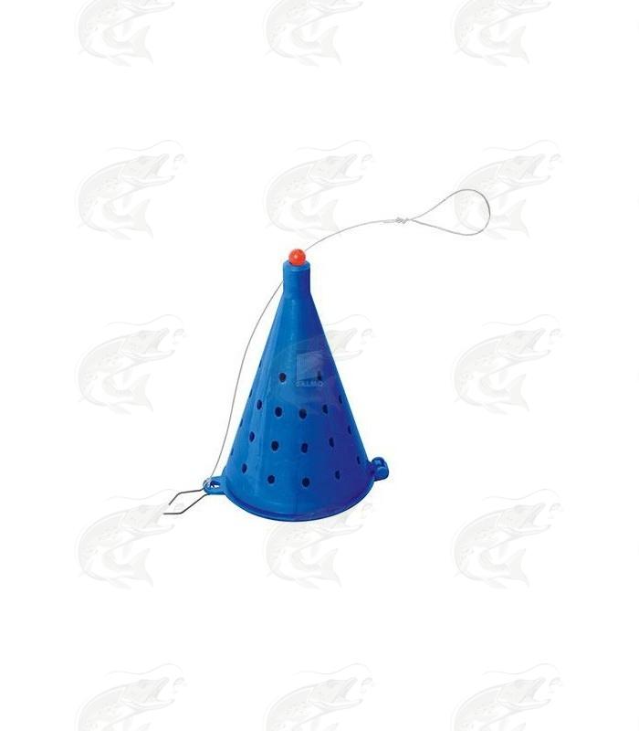 Plastikust söödakorv KOONUS 100mm