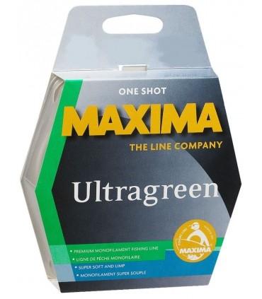 Maxima Ultragreen One Shot monofilament line